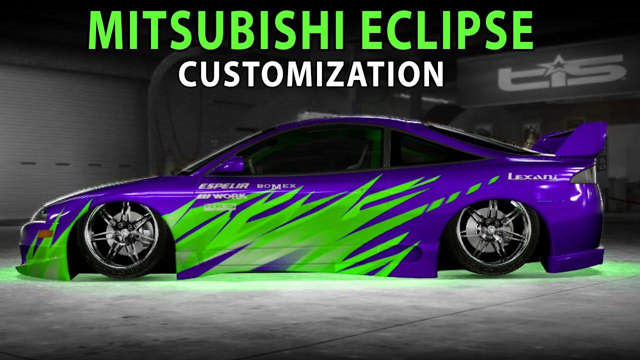 Midnight Club LA - Mitsubishi Eclipse GSX (NFS ...