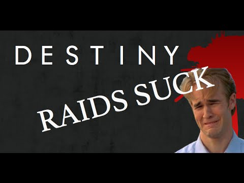 Why is there no matchmaking for raids in destiny