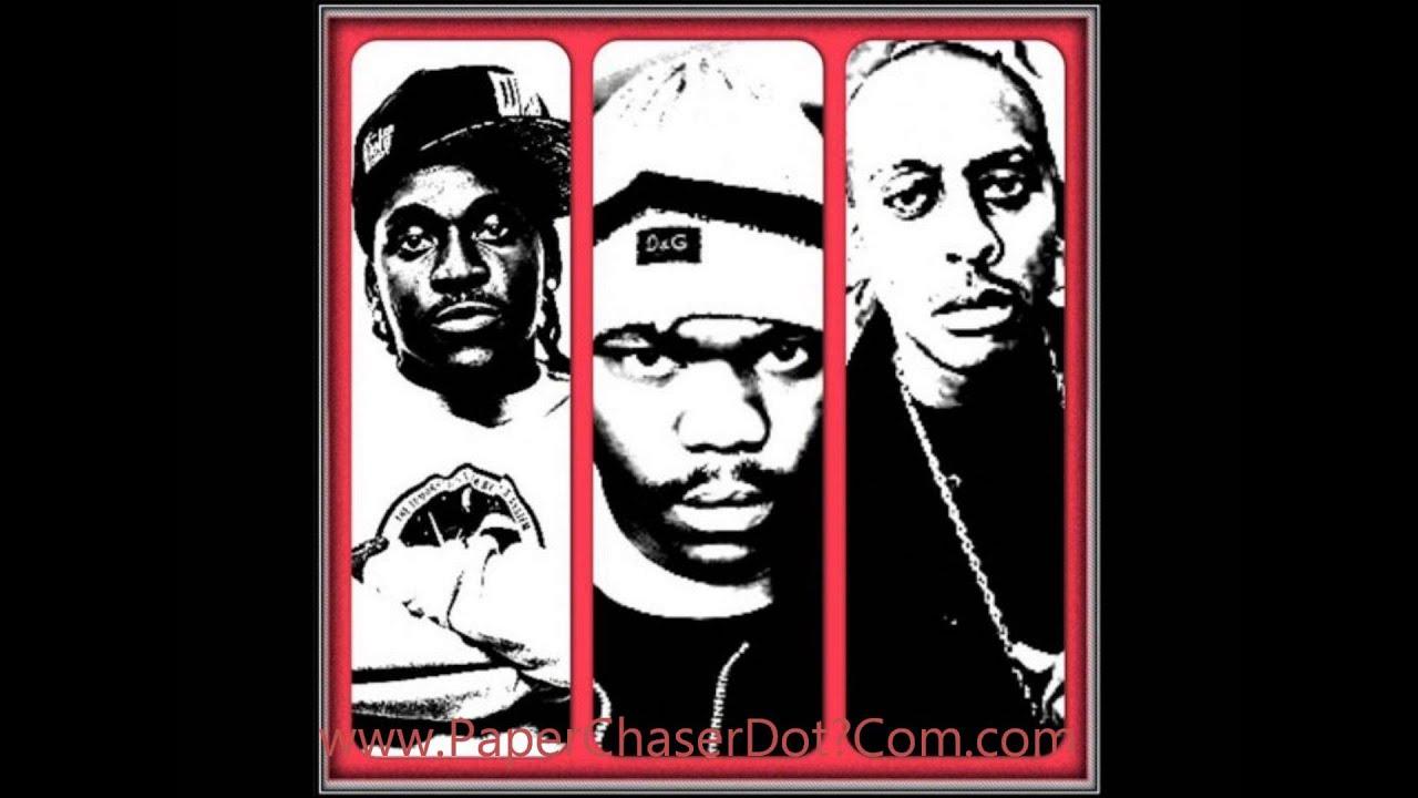 Gillie Da Kid Ft. Beanie Sigel & Pusha T - Tryna Get Me One (Remix) 2013 New CDQ Dirty NO DJ