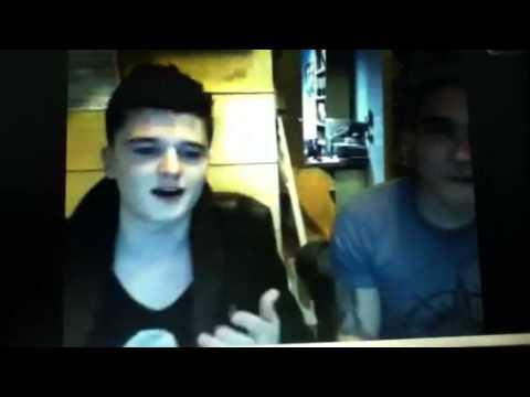 Josh Devine and joey twitcam