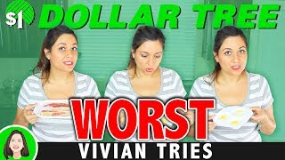 Worst Dollar Tree Products I Ever Tried - Vivian Tries