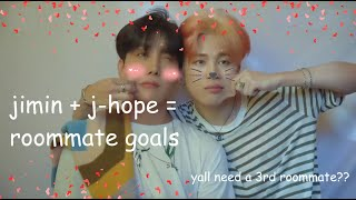 jimin and jhope need to be roommates forever
