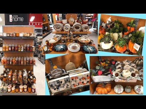 FALL DECOR  IDEAS 2019 | THANKSGIVING AND HALLOWEEN DECOR | SHOP WITH ME |#Halloween2019