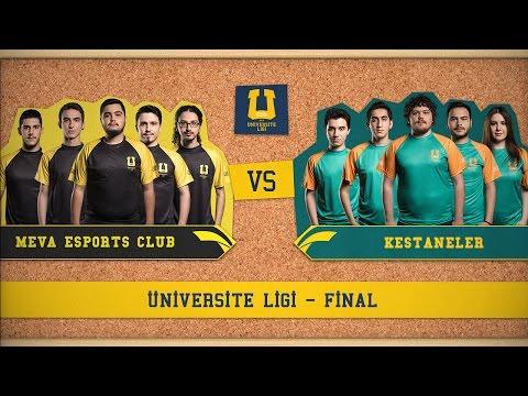 Üniversite Ligi - Meva Esports Club vs Kestaneler (Final)