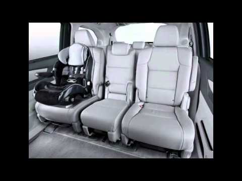 Honda Odyssey Seating Capacity >> 2nd Row and 3rd Row Magic Seat (2011 Honda Odyssey) - YouTube