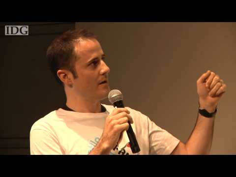 Raw video: Twitter CEO Evan Williams speaks to users in Tokyo