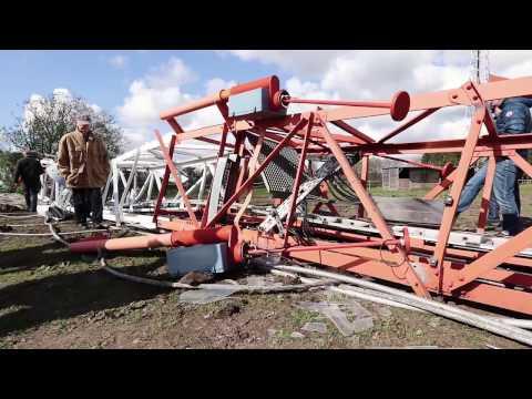 Funkturm-Sprengung in Zeven: Warum der Telekom-Funkmast weg musste