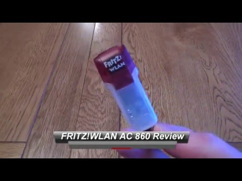 AVM FRITZ!WLAN AC 860 WiFi Dongle Review - Monster wifi performance
