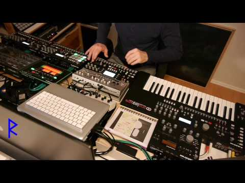 Rufes Live - Magic Bass Line # Classic Techno Set with Elektron machines & Roland TB-03