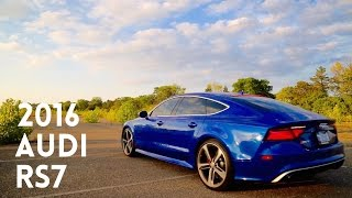 REVIEWING MY FRIENDS 2016 AUDI RS7 !!!