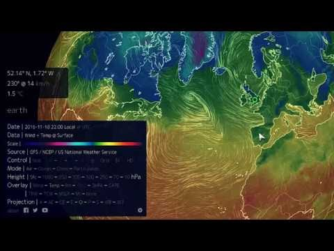 Easy Climate Science | Earth Nullschool Tutorial (Part 1)