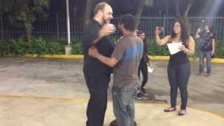 Flashmob Proposal (filmed by Gustave)