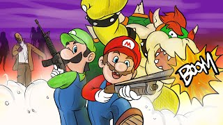 Super Mario 64 Zombies (Call of Duty: WaW Zombies Funny Moments)