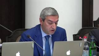 Արտահերթ նիստ  Վահան Մարտիրոսյան