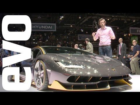 Lamborghini Centenario preview. See new carbon fibre supercar in detail | evo MOTOR SHOWS