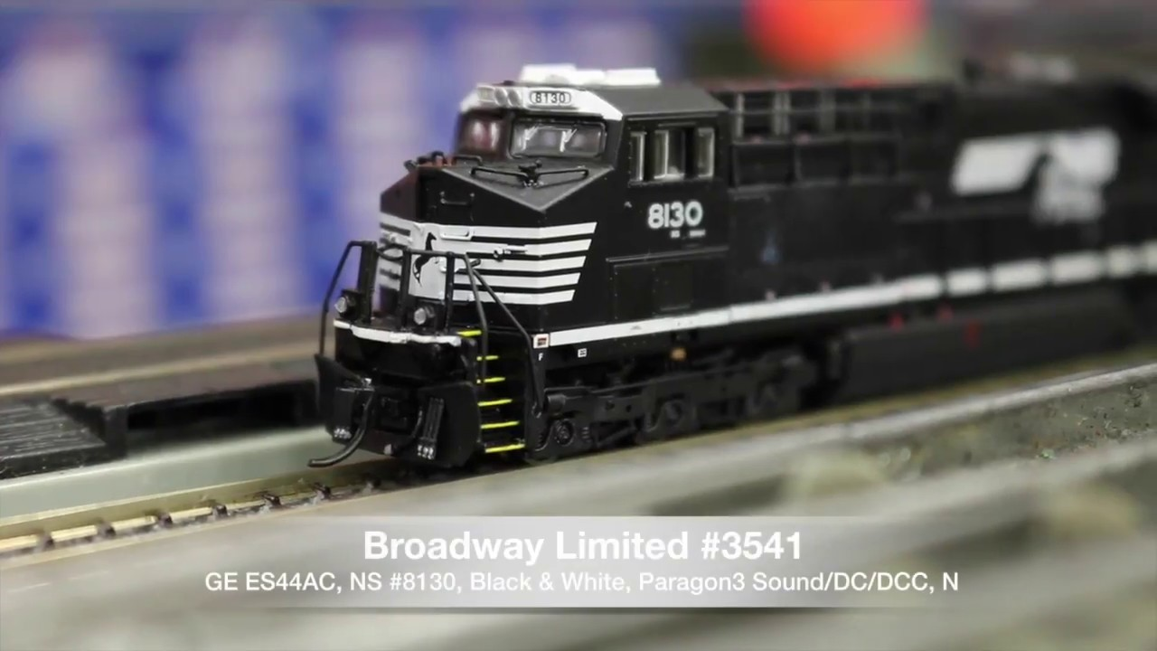 Broadway Limited Es44ac