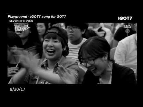 Playground - International IGOT7 song for GOT7
