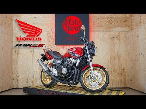 Honda cb400sf обзор видео