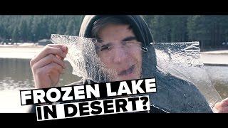 FROZEN LAKE IN THE DESERT? Cabin Adventure in Munds Park, Arizona