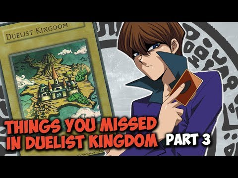 Things You Missed In YU-GI-OH! Duelist Kingdom Arc Part 3