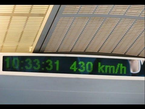 German Transrapid in China (Shanghai Maglev Train)