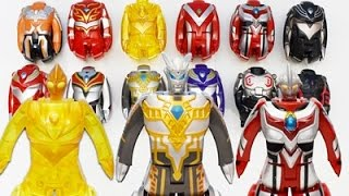 Tiga zero nexus set,Ultraman Zero Belial set,Tiga power set,Tiga Sk...