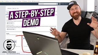 How Facebook Ads Work STEP BY STEP DEMO (w/ REAL EXAMPLES from a 7figure marketer)