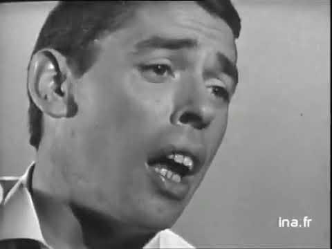 Jacques Brel  Le plat pays ( chanteur poète acteur belge)