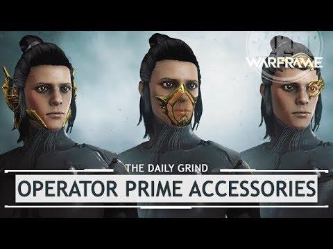 Warframe Operator Prime Accessories Mesa Prime Access