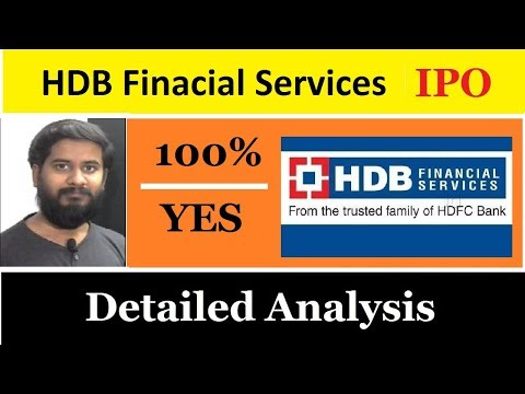 HDB Finacial Services Super IPO coming soon detailed analysis by trading marathon