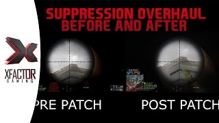 Battlefield 4 Variable Suppression System - Breakdown before and after