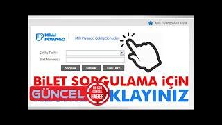 Milli Piyango 9 Temmuz çekiliş sonuçları tam liste! - Milli Piyango MPİ bilet sorgulama!