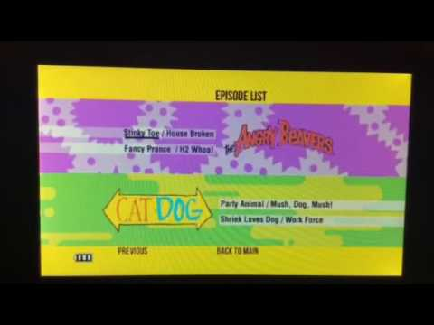 Nickelodeon Out Of The Vault Vol. 1 DVD Walkthrough