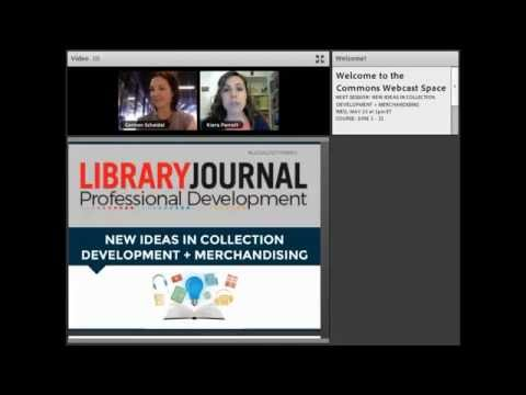Online Course Preview: New Ideas In Collection Development & Mechandising