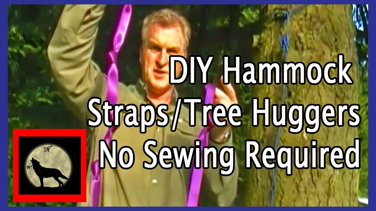 DIY Hammock Straps Tree Huggers No Sewing Required