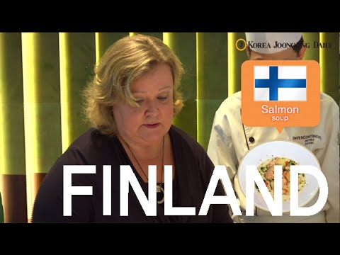 [COOKING WITH HER EXCELLENCY, Finland] 핀란드 편(eng)