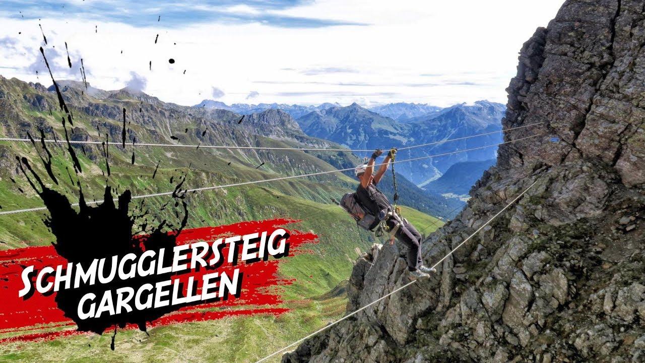 Vaude Klettersteig : Schmuggler klettersteig gargellen vaude youtube