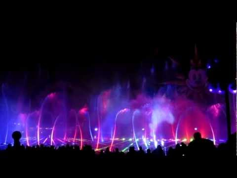 World of Color (March 2012)- Aladdin & Fantasia HD