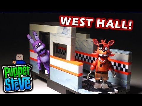 FNaF McFarlane Toys WEST HALL Playset  Five Nights at Freddys Unboxing
