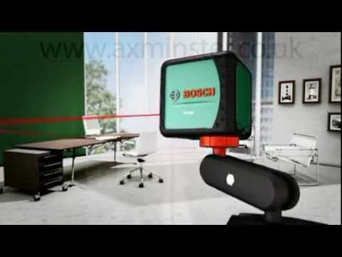 bosch quigo cross line laser youtube. Black Bedroom Furniture Sets. Home Design Ideas