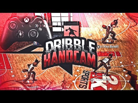 DRIBBLE + EURO STEP TUTORIAL W/ HANDCAM EASIEST TUTORIAL TO BECOME A GOAT ON NBA 2K19