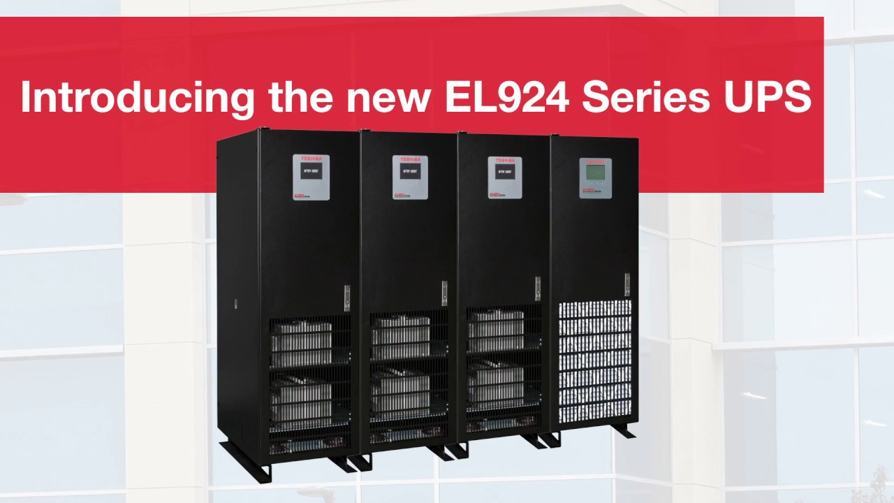 Toshiba EL924 Series Uninterruptible Power System for Emergency Lighting  Applications