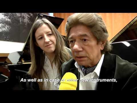 Vlada Vassilieva and Anatoly Zatin talk about ANT PETROF grand piano