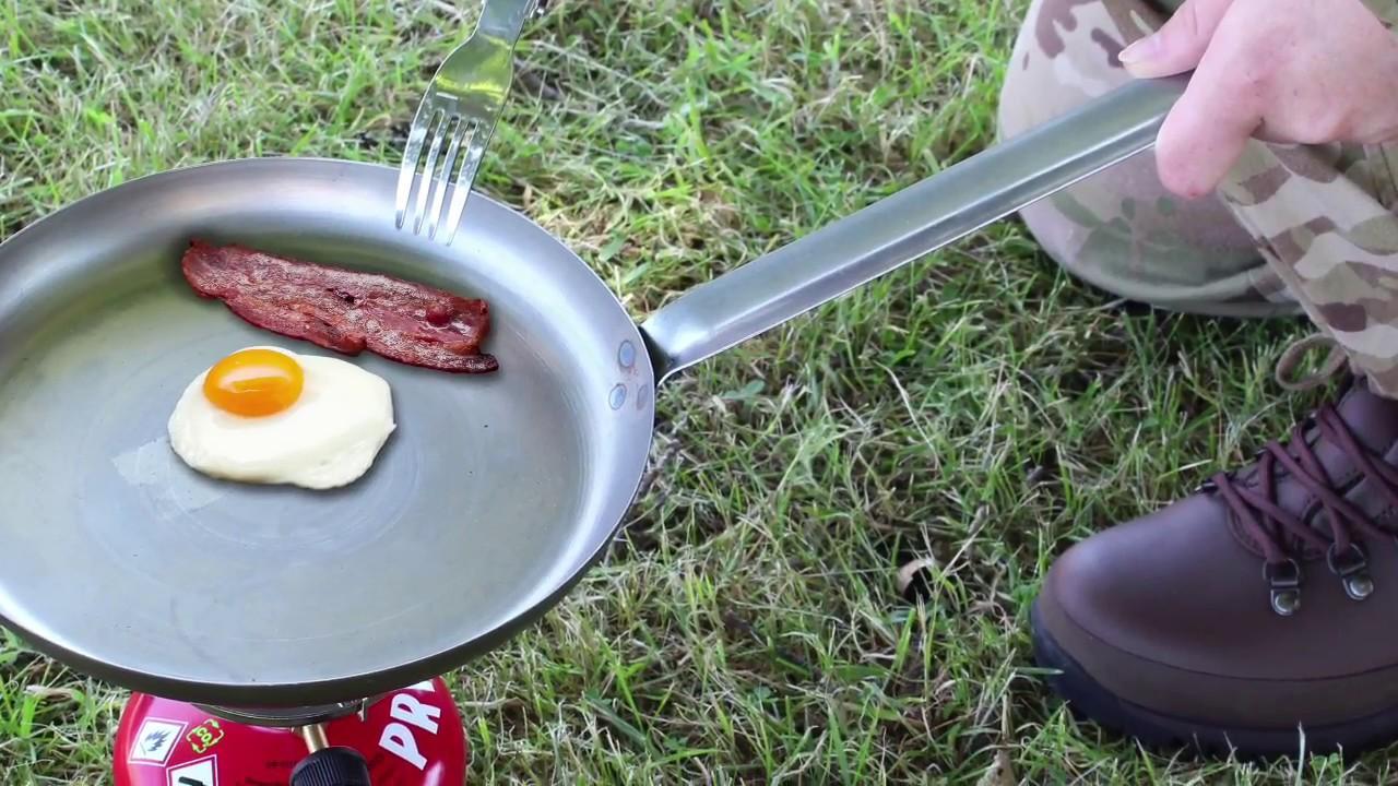 Frying Pan MFH Camping Skillet