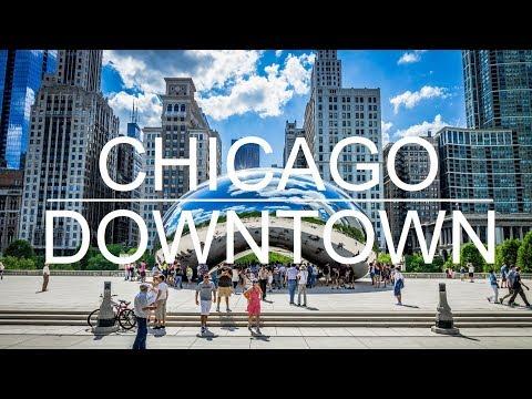 Chicago Downtown: Chicago, Illinois, USA