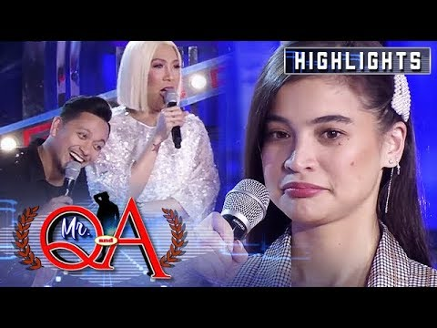 Jhong and Vice make fun of Anne's moles | It's Showtime Mr. Q and A Mp3