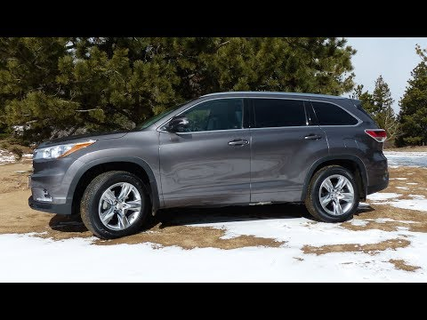 Toyota Highlander Custom >> 2014 Toyota Highlander Off-Road Review: Colorado Muddy Mess Test - YouTube