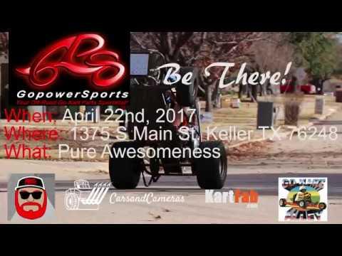 Visit KartFab at GoPowerSports April 22nd 2017