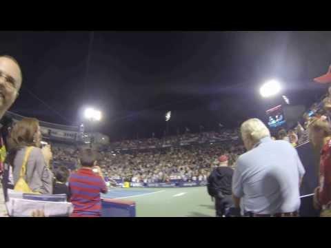 Djokovic Dances on Centre Court in Montreal