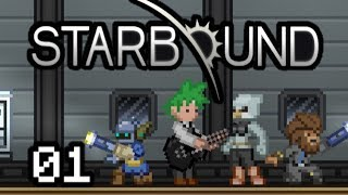 Starbound Let's Play - 2013: A Space Odyssey (Episode 01)